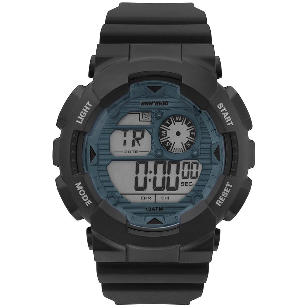 e2fb3d97ba2 Relógio Mormaii Masculino Wave Preto MO3415D 8A - mormaiishop