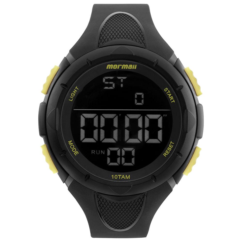 e8950a686 Relógio Mormaii Masculino Wave Preto MOM14810AA/8Y - mormaiishop
