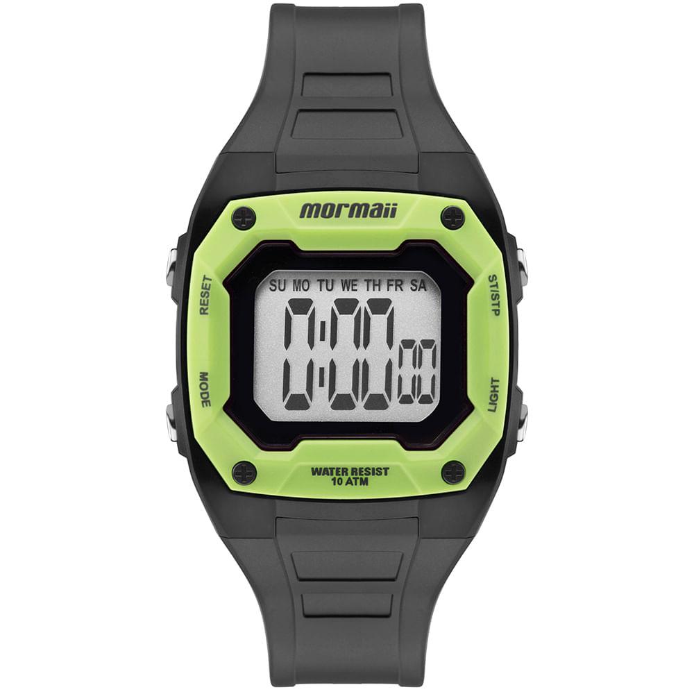Relógio Mormaii Unissex Nxt Cinza MO9451AC 8V - mormaiishop 98ed0afda4