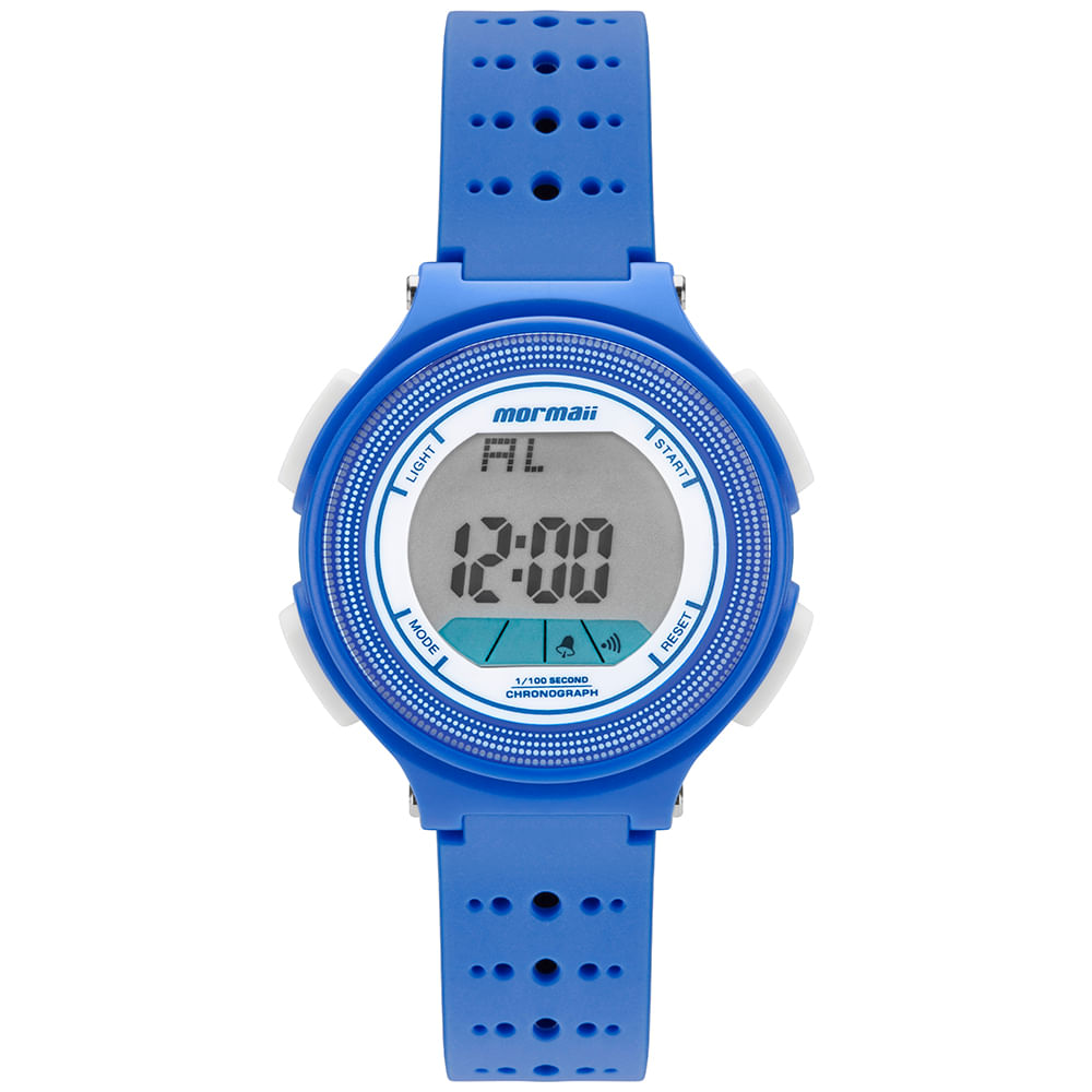 Relógio Mormaii Unissex Nxt Azul MO0974 8A - mormaiishop eb1c982a21