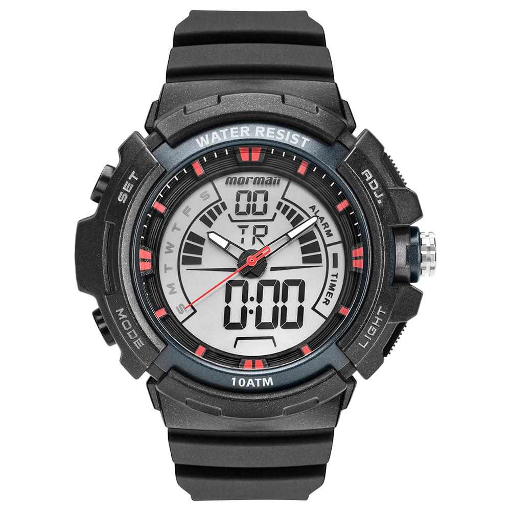 001a741ad160e Relógio Mormaii Masculino Acqua Preto MO8902AA 8R - mormaiishop