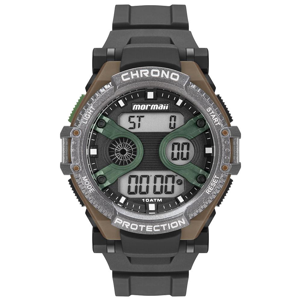 a3282e8cb1b71 Relógio Mormaii Masculino Acqua Bicolor MO8590AB 8V - mormaiishop