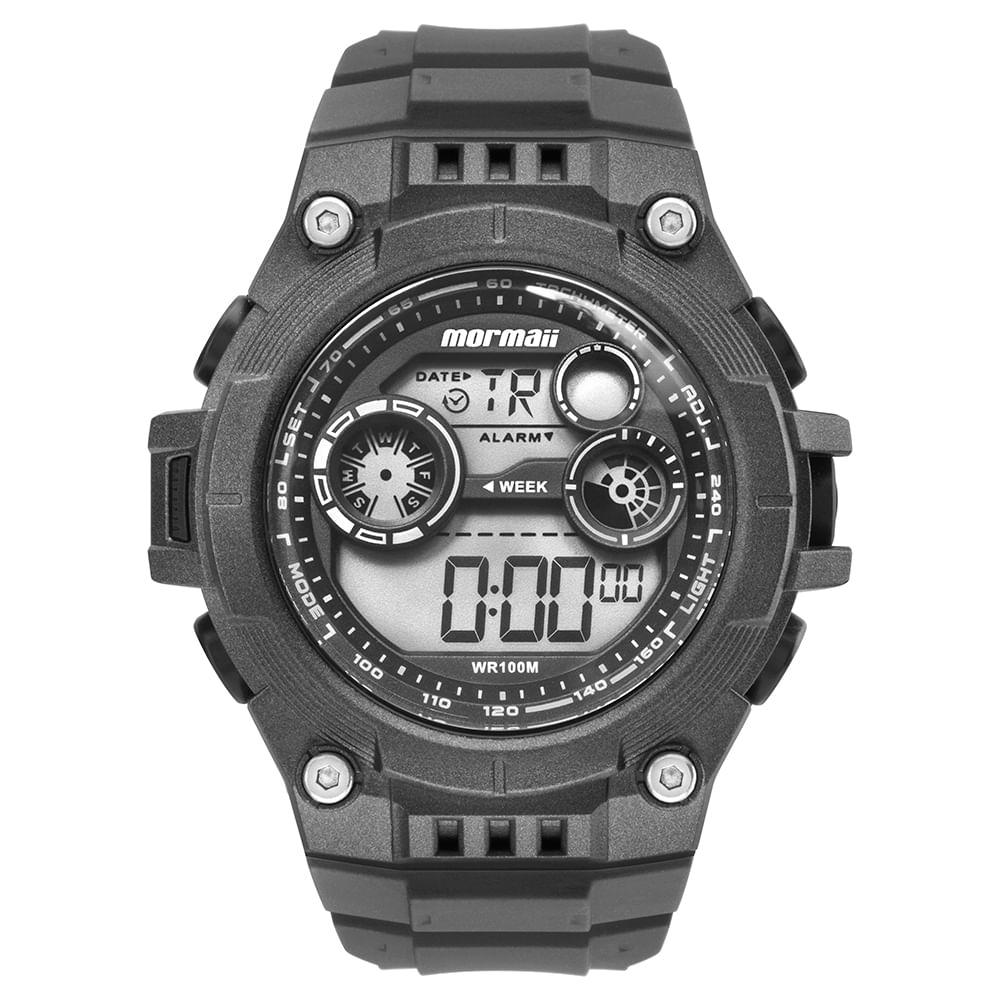 Relógio Mormaii Masculino Acqua Cinza MO9000E 8C - mormaiishop 675e25b717
