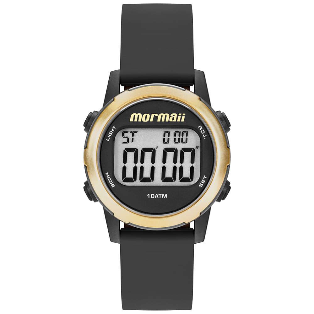 Relógio Mormaii Feminino Maui Dourado MO3700AA 8D - mormaiishop 3cda361919
