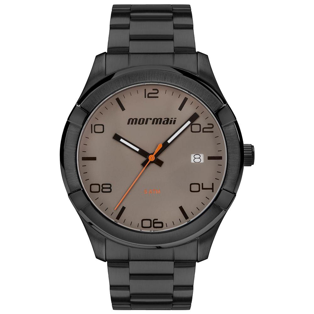 d129ecde67f Relógio Mormaii Masculino Raízes Preto MO2415AG 4C - mormaiishop