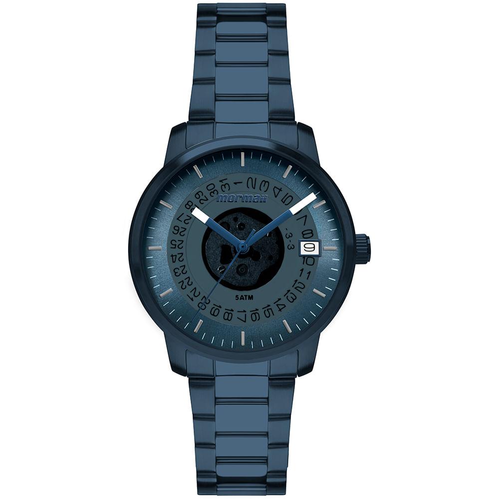 8cf85ece27a Relógio Mormaii Feminino Maui Azul MO2415AB 4A - mormaiishop