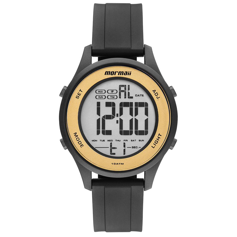 Relógio Mormaii Feminino Wave Preto MO6200 8D - mormaiishop af47cc238b