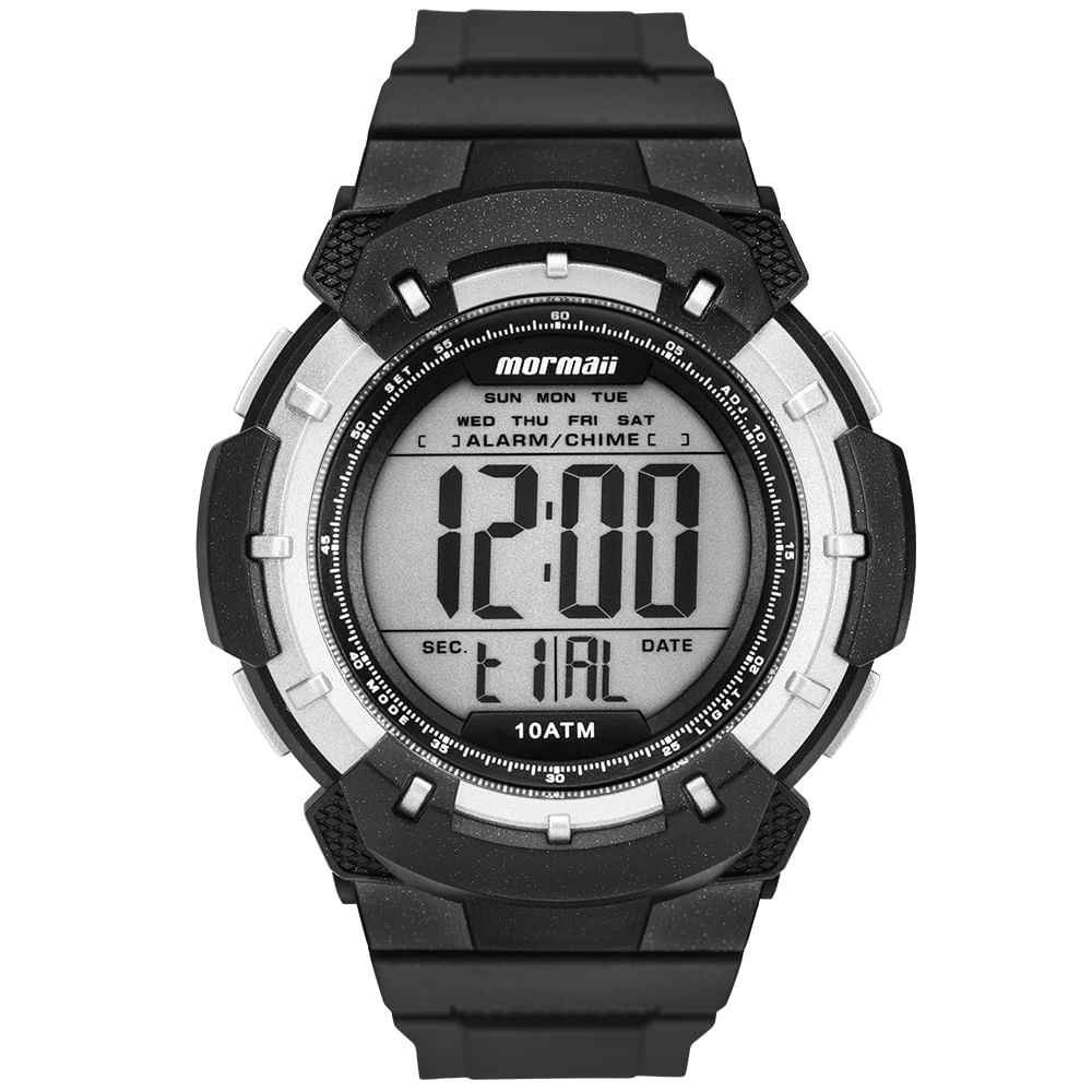9a8b1eec32e Relógio Mormaii Masculino Acqua Preto MO3571 8P - mormaiishop