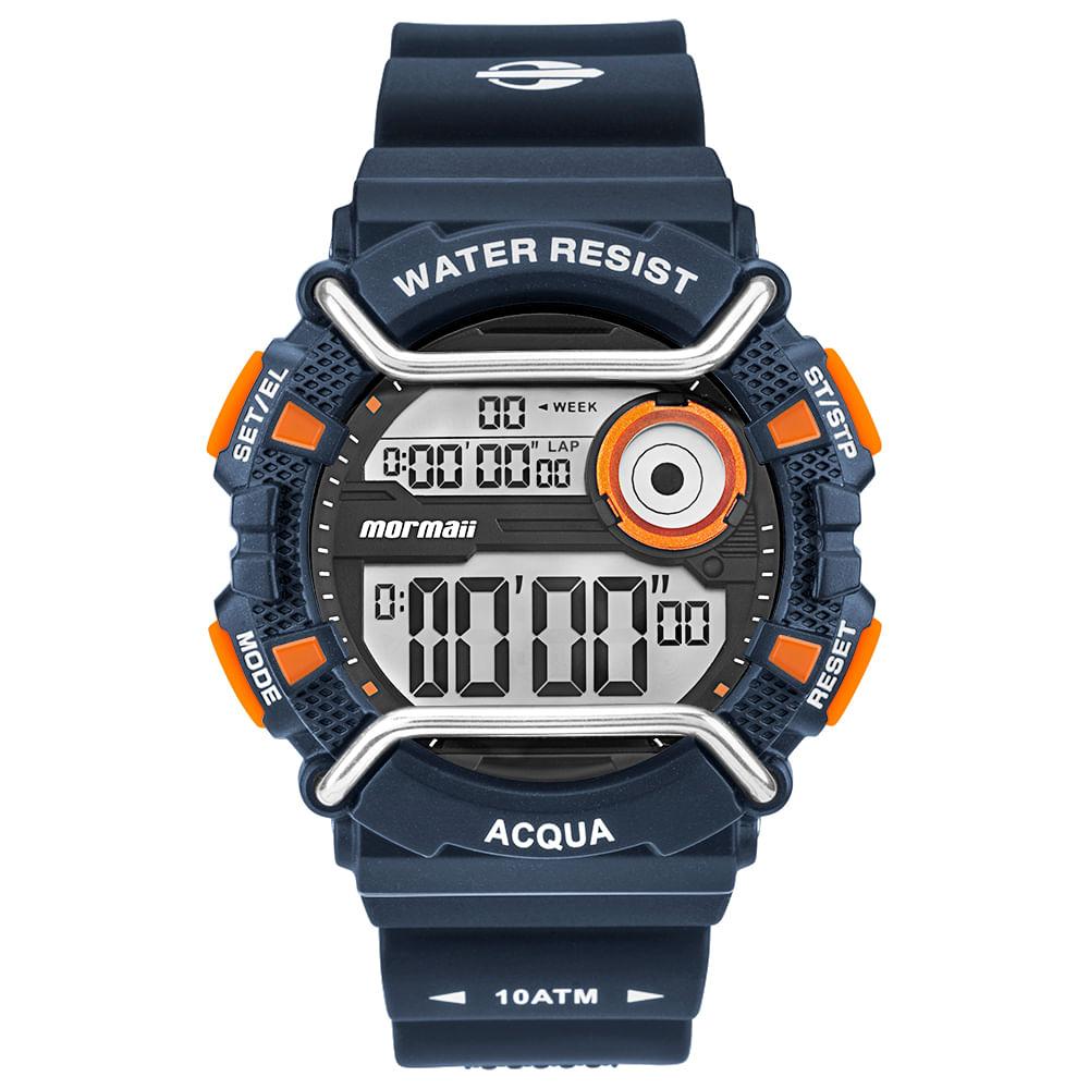 e06ff5b1220 Relógio Mormaii Masculino Acqua Azul MONXE 8L - mormaiishop