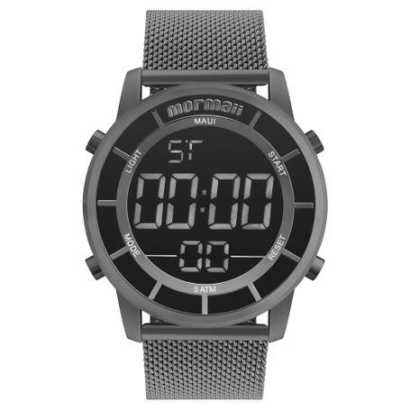 0d680a39eb722 Relógio Mormaii Feminino Interestelar Grafite MOBJ3463BA 4C - mormaiishop