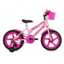 Bicicleta aro 16 kiss infantil mormaii com cesta 8eef6c54c6