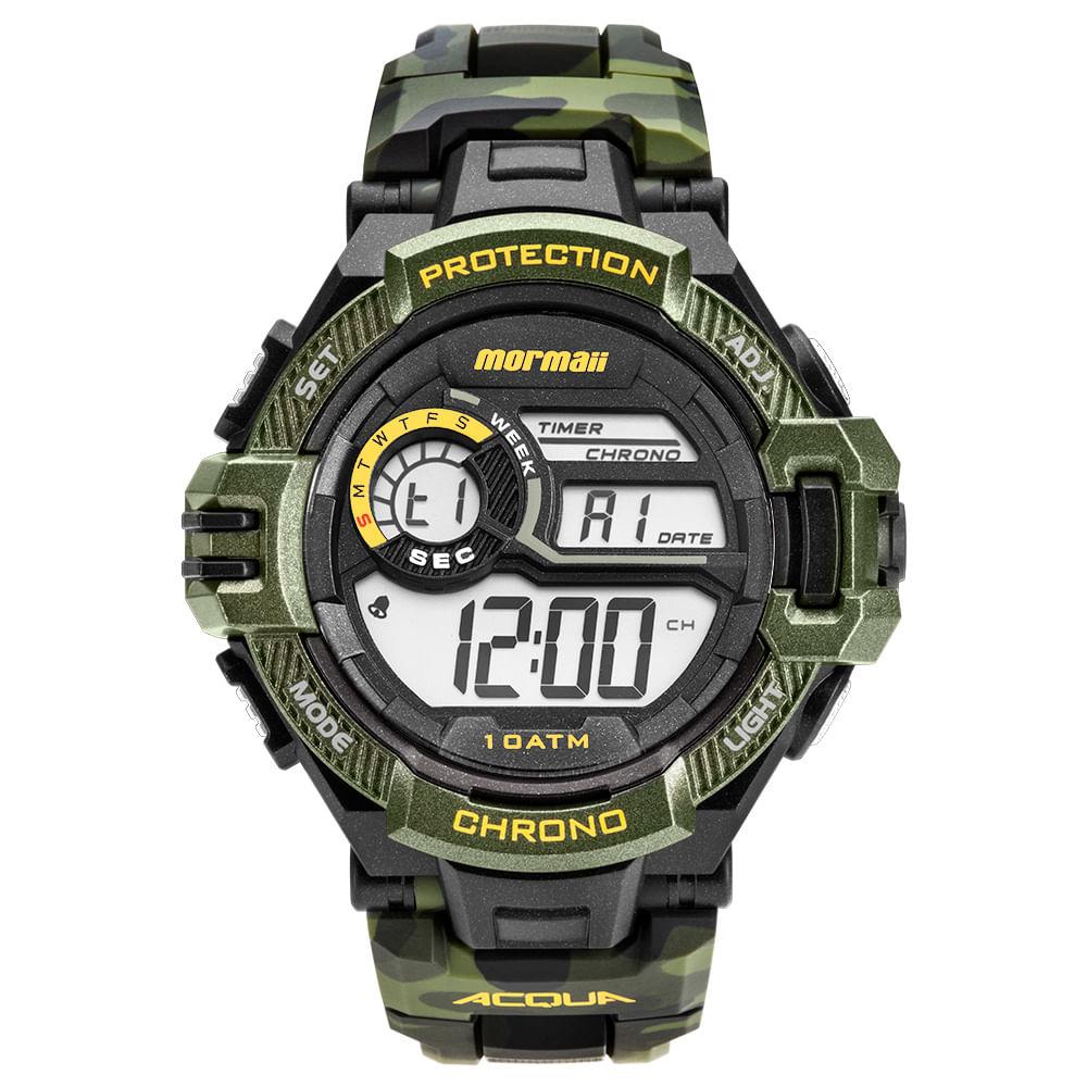 73a7bded74024 Relógio Mormaii Masculino Acquaforce Preto MO1134 8V - mormaiishop