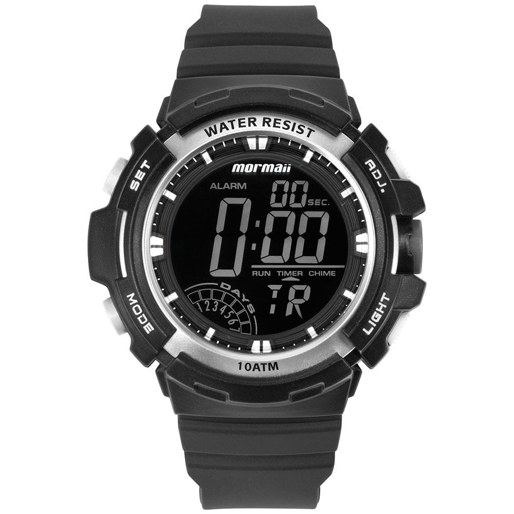 Relógio Mormaii Masculino Wave Preto MO8902AB 8C - mormaiishop 5cf8bd51e6