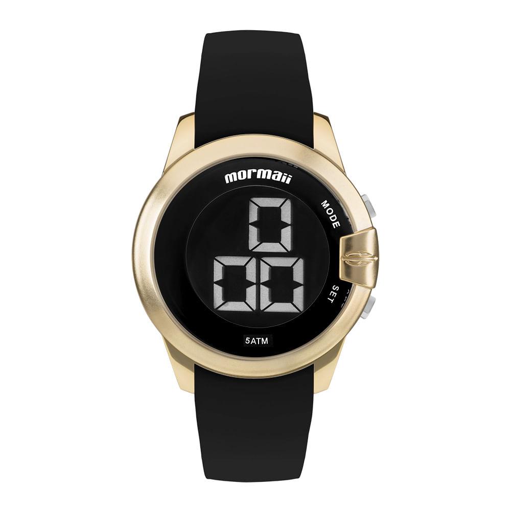 Relógio Mormaii Feminino Interestelar Dourado MOBJT007 8D - mormaiishop 47b1bab5e7