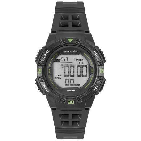 Relógio Mormaii Masculino Wave Preto MO9100AA 8V - mormaiishop 49b6e52e72