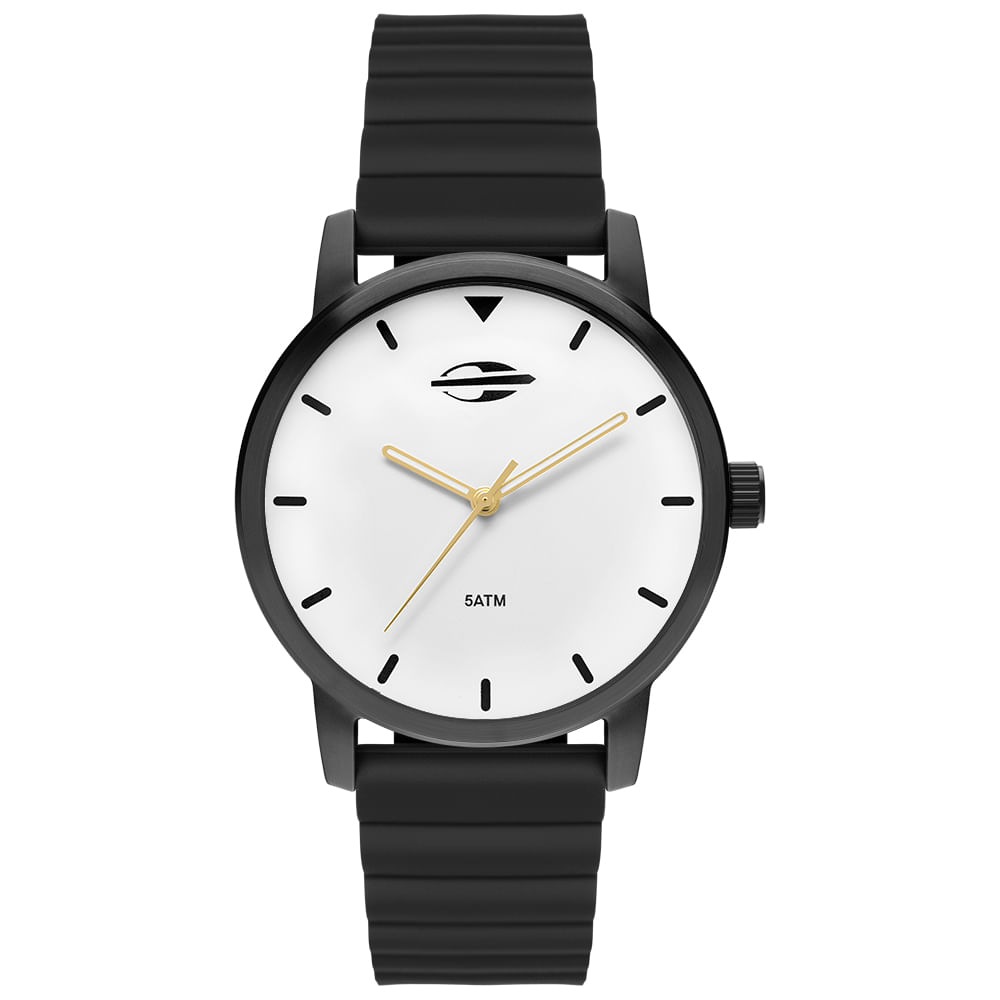 Relógio Mormaii Feminino Interestelar Preto MO2035JP 8P - mormaiishop f535e62e1a