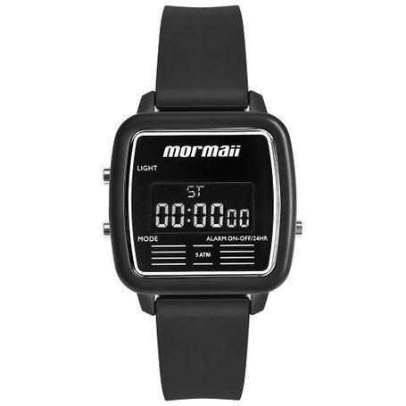 5d761ea39fff8 Relógio Mormaii Unissex Vintage Preto MOJH02AV 8P - mormaiishop
