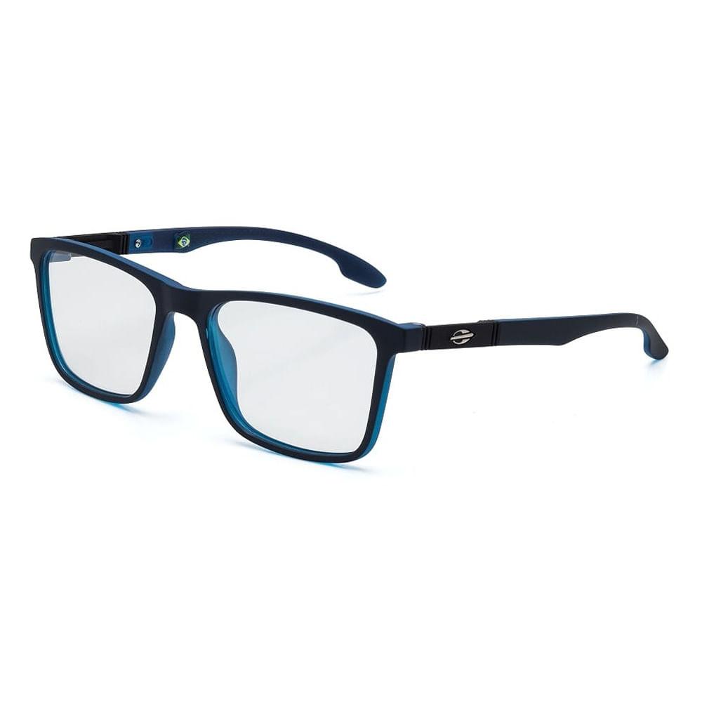 eb70eab7081d8 Óculos de grau mormaii asana azul fechado parede azul - mormaiishop