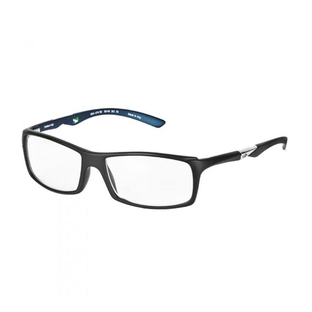 ee1bc410f0757 Óculos de grau mormaii camburi full preto com azul petroleo - mormaiishop