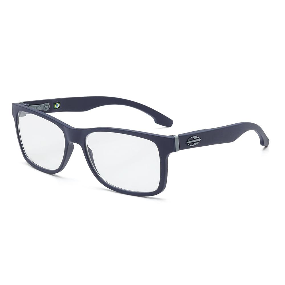 ff00eadcccdd4 Óculos de grau mormaii califa azul escuro fechado fosco - mormaiishop