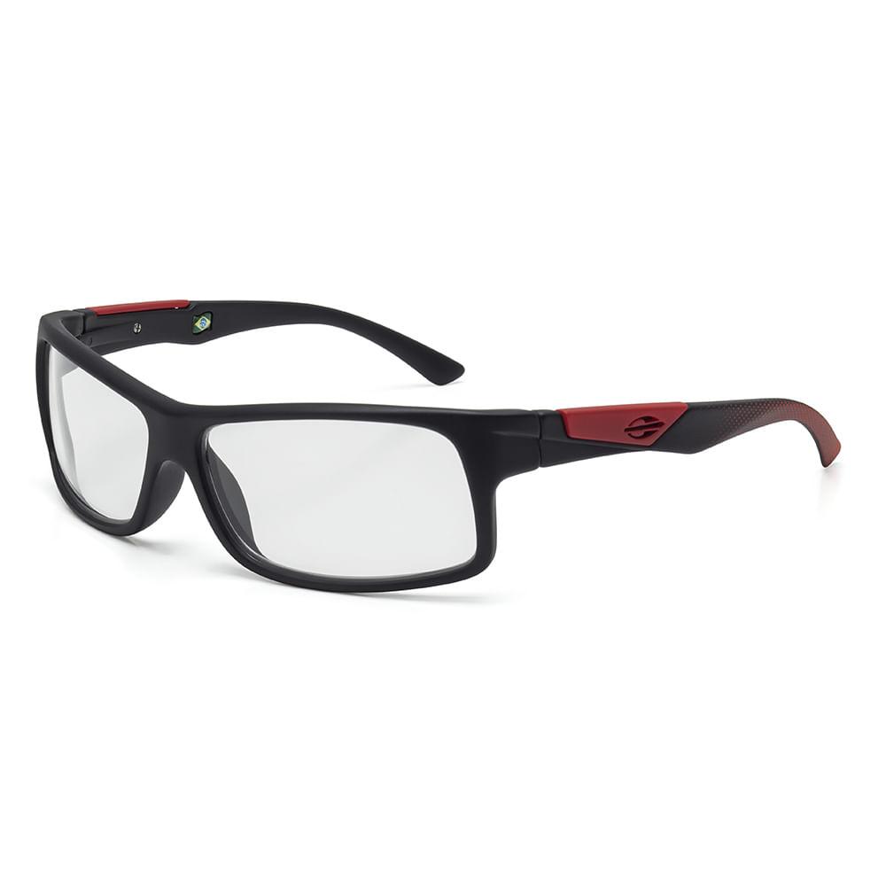 Óculos de grau mormaii vibe infantil preto fosco com vermelho - mormaiishop 19d864a077