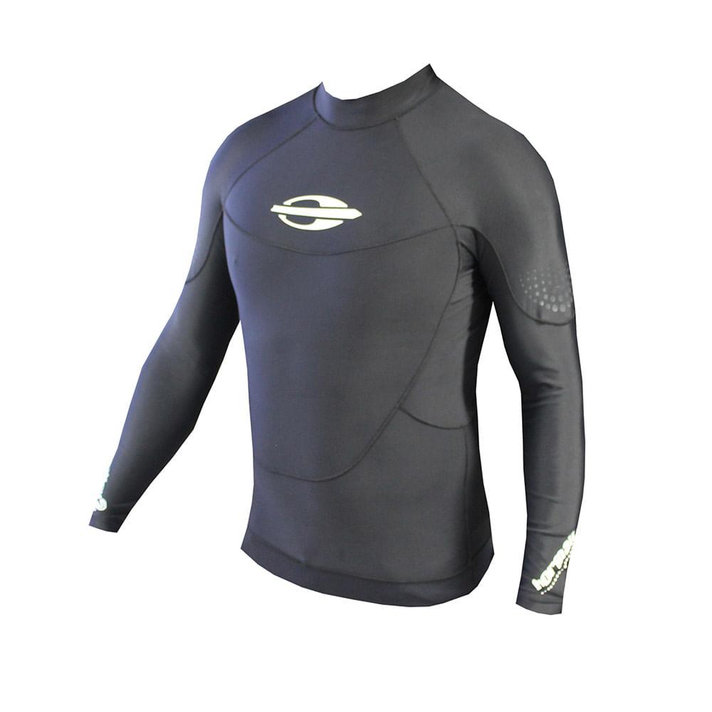Camiseta masculina elastano (linha surf) - mormaiishop 3e09a2081da