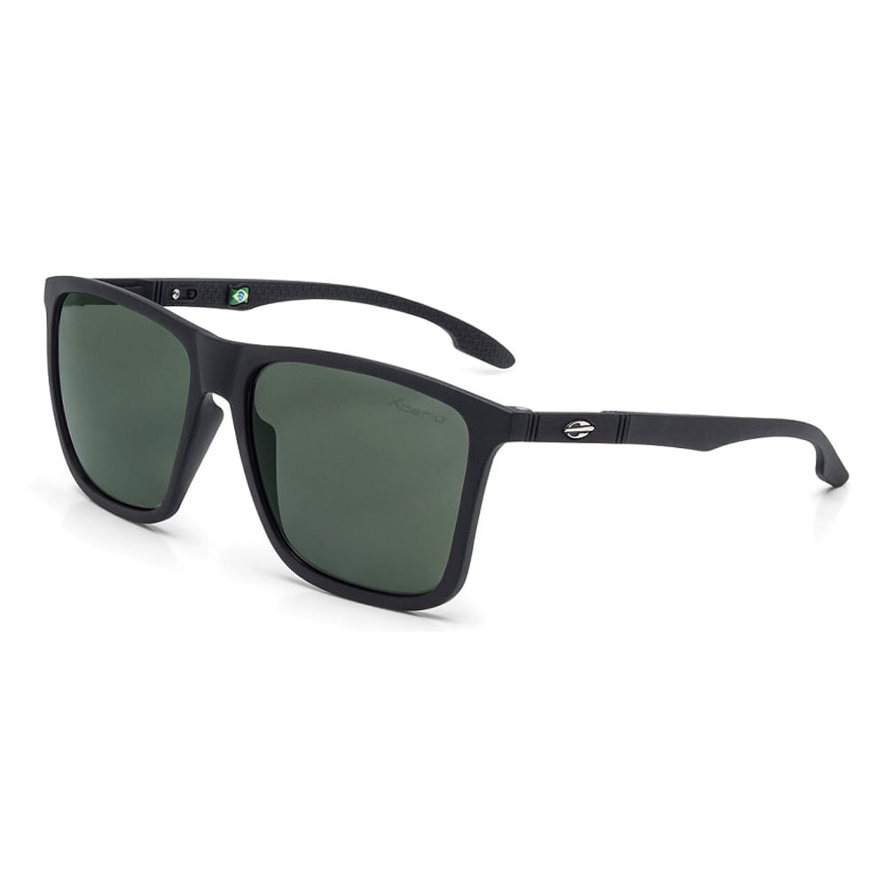 5d292483106e6 Oculos de sol mormaii hawaii preto fosco lente verde g15 - mormaiishop