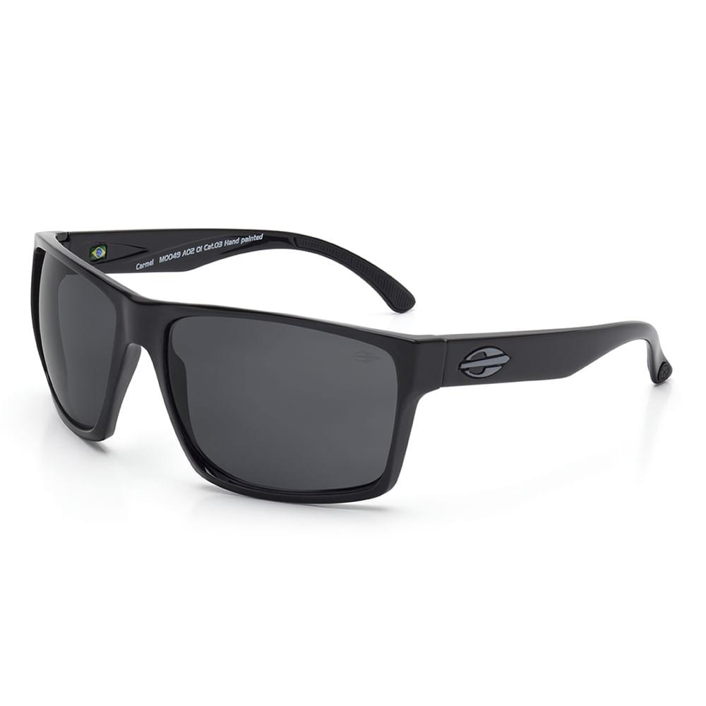 Óculos de sol mormaii carmel preto brilho lente cinza - mormaiishop 225e294a4f