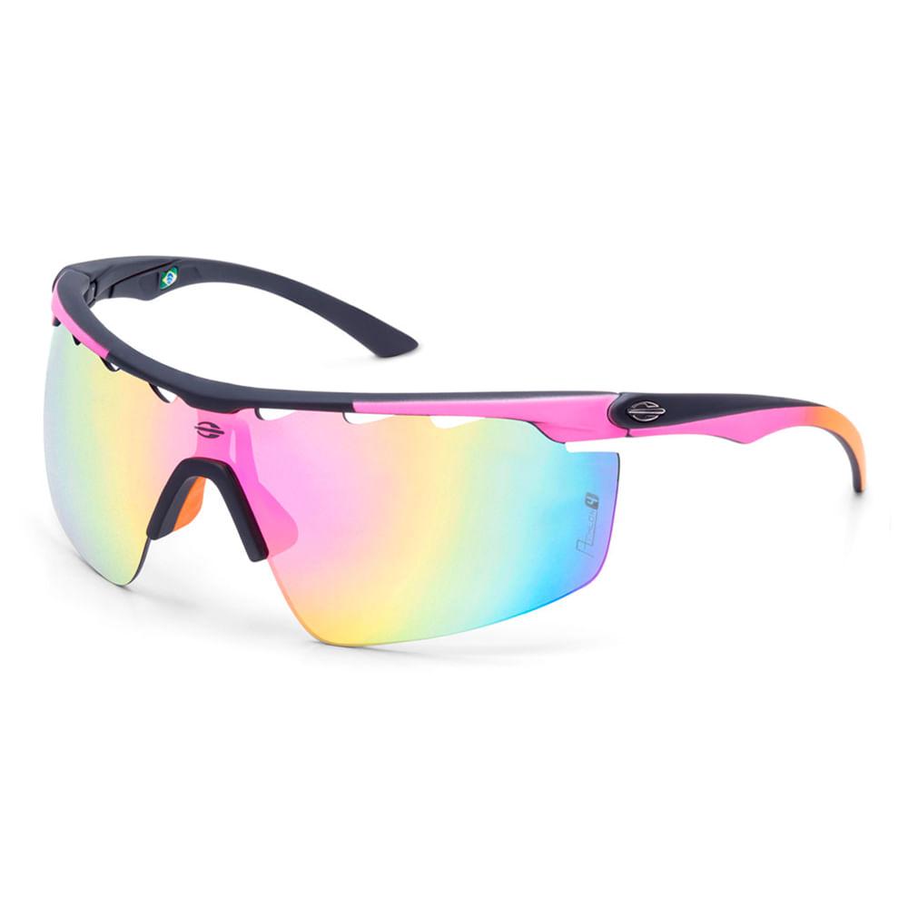 Óculos de sol mormaii athlon 4 preto fosco lente rosa degradê - mormaiishop 3c073518c7