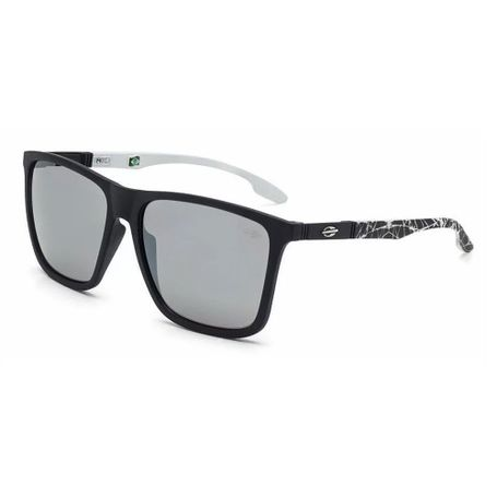 Óculos de sol mormaii hawaii preto fosco lente cinza flash prata -  mormaiishop 5588e83a80