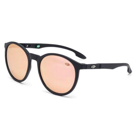 Óculos de sol mormaii maui preto fosco lente marrom revo rose gold ... d19b551380