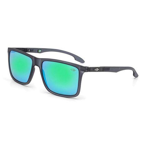 Óculos de sol mormaii kona fume fosco lente cinza fl verde - mormaiishop b095c0536f