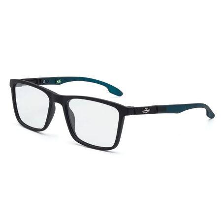 Óculos de grau mormaii asana preto fosco com petróleo - mormaiishop d99c4f2737