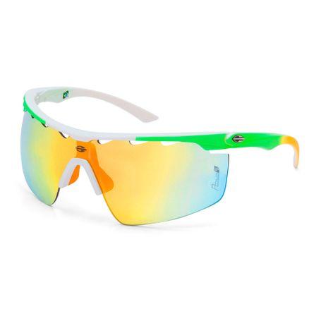 7237125825d22 Óculos de sol mormaii athlon 4 branco fosco lente laranja espelhado -  mormaiishop
