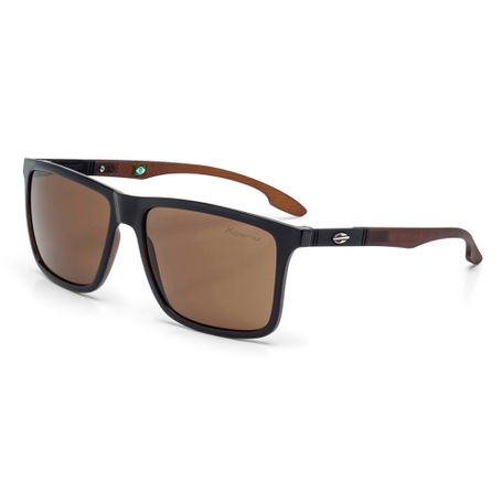Óculos de sol mormaii kona preto e marrom brilho lente marrom polarizada -  mormaiishop 043df7c2c2