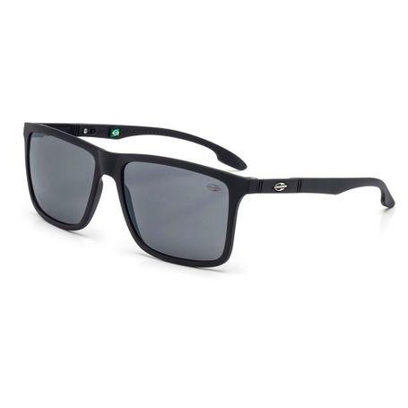 Óculos de sol mormaii kona preto fosco lente cinza fl prata ... 87e6c4df98