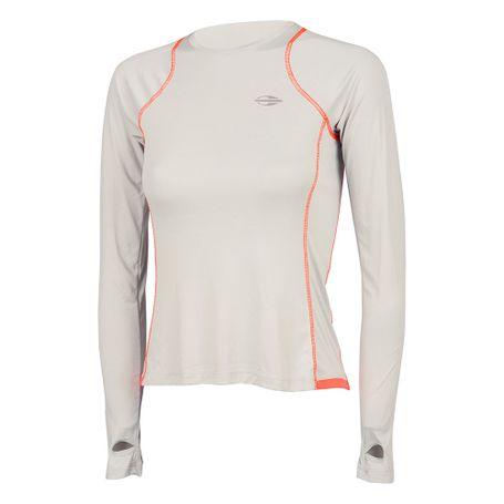 Camiseta manga longa feminino uv dry moving - mormaiishop a330f923318