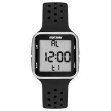 64937ba484cdb Relógio Mormaii Wave Unissex Prata MO6600AA 8K