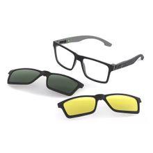 a34e2d3432cb2 Óculos de grau mormaii swap preto parede cinza