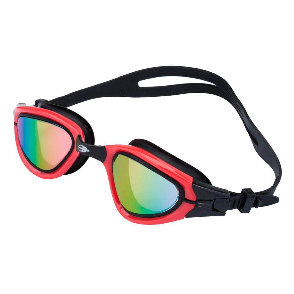 8c441792c4d0f Óculos de natação athlon Preto-vermelho TU