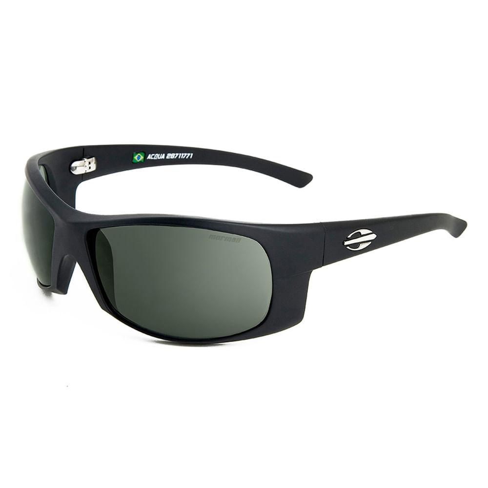 18ad79bf75afa Óculos de sol mormaii acqua preto fosco lente verde - mormaiishop