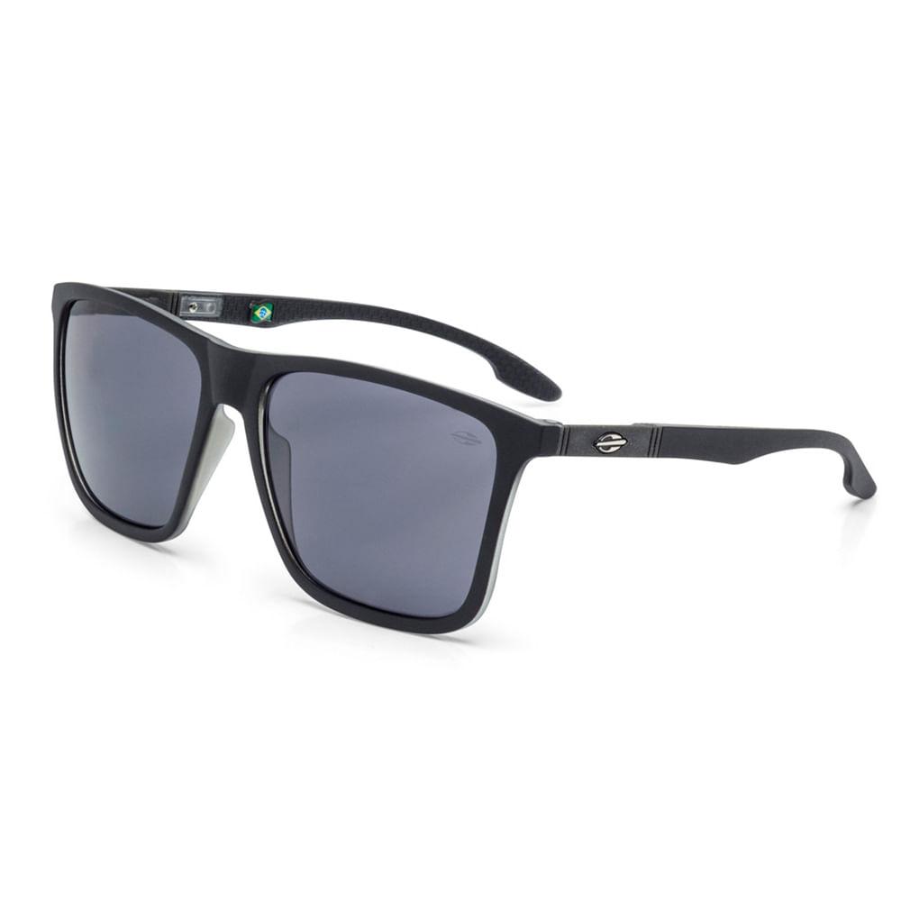 5704ec5616cfb Óculos de sol mormaii hawaii preto fosco com translucido - mormaiishop