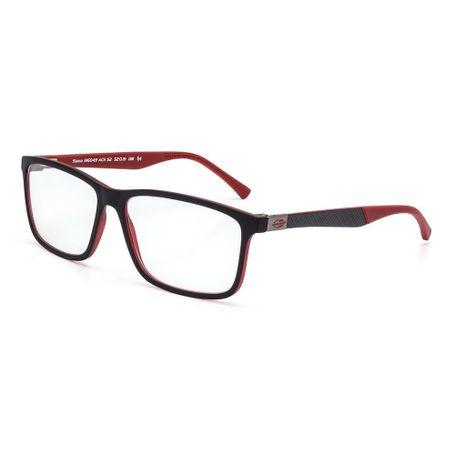 4fbeb70afae0a Óculos de grau mormaii sama preto parede vermelho fosco - mormaiishop