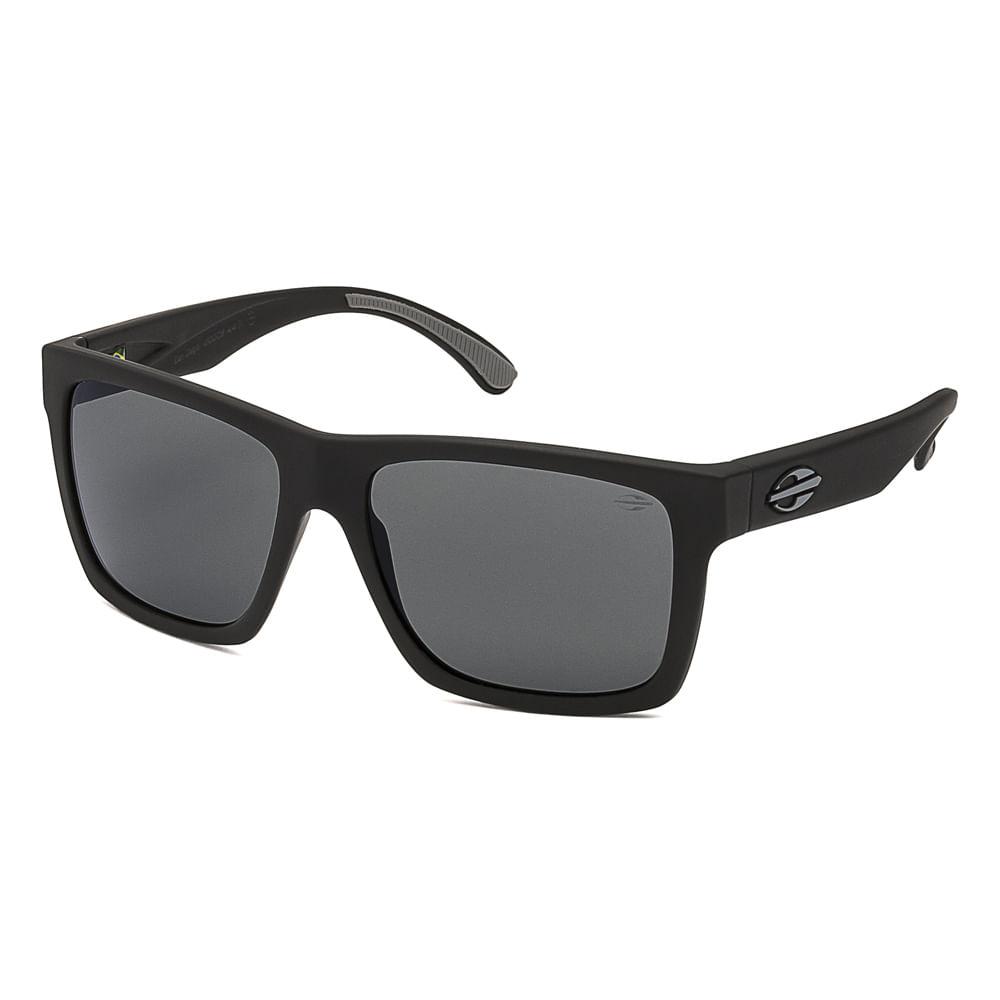 5dc33682eb974 Óculos de sol mormaii san diego preto fosco lente cinza - mormaiishop