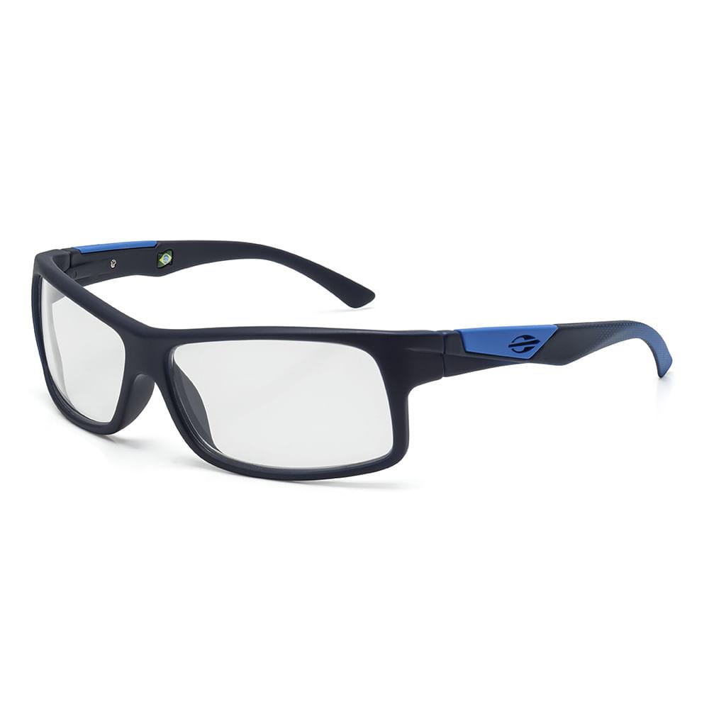 9e104f7773889 Óculos de grau mormaii vibe infantil preto fosco com azul - mormaiishop