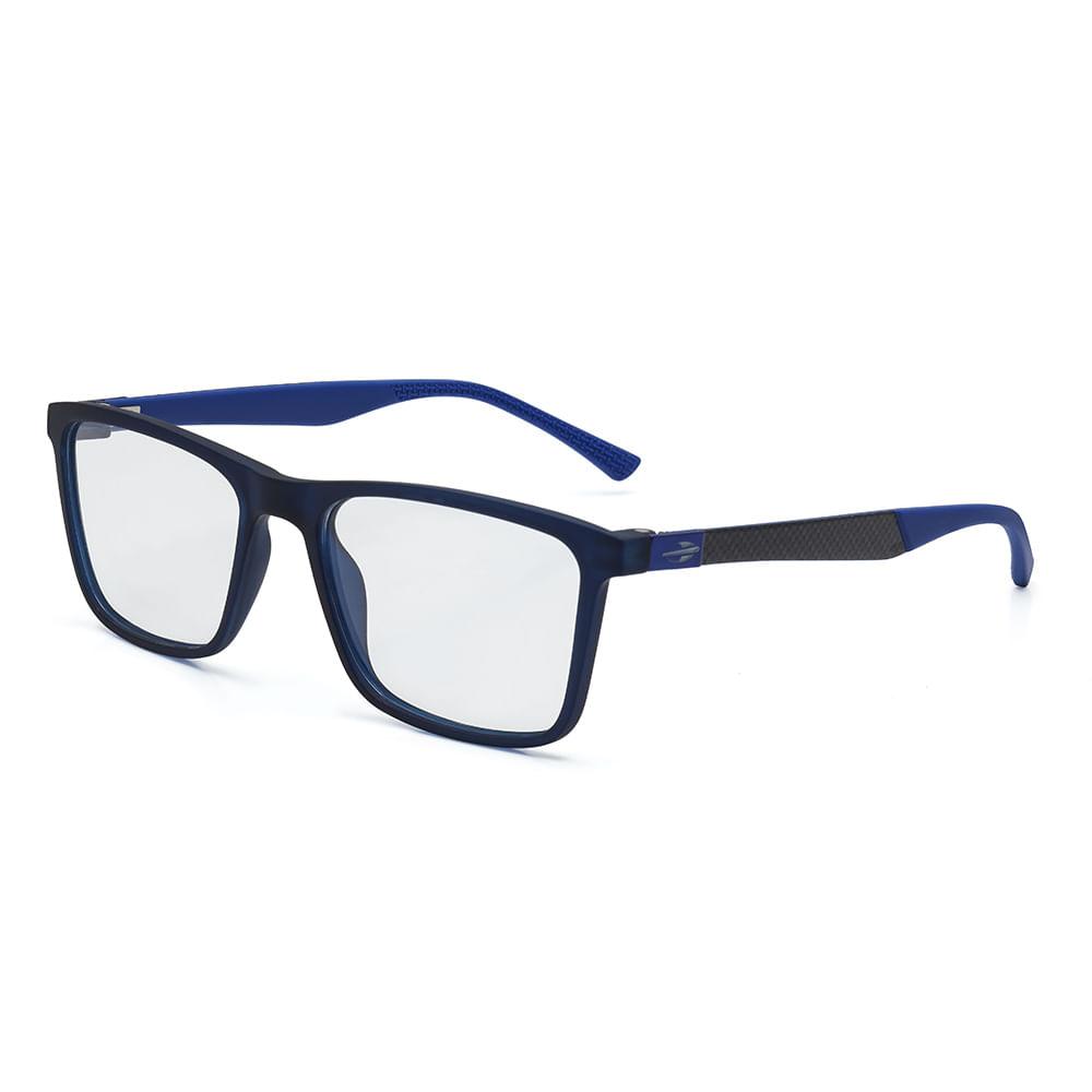 2192bf9b7199e Óculos de grau mormaii mudra azul escuro translucido - mormaiishop