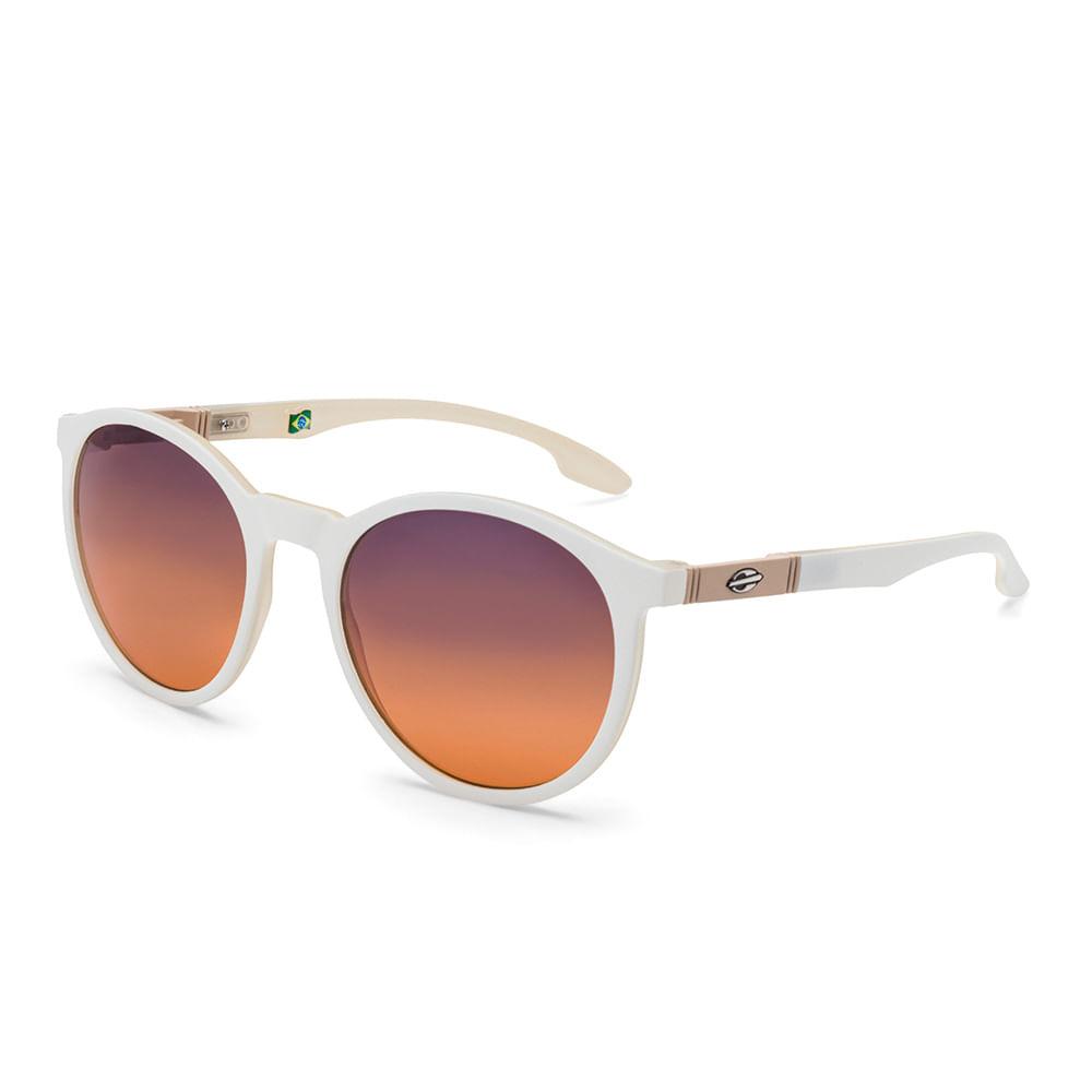 5644d875e1ee4 Óculos de sol mormaii maui branco fosco lente azul degradê - mormaiishop