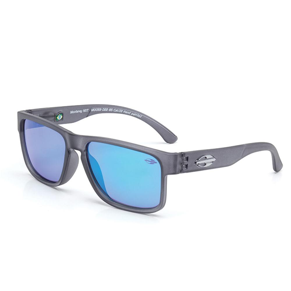 260d936e0ca3c Óculos de sol mormaii infantil monterey nxt fume fosco lente cinza ...