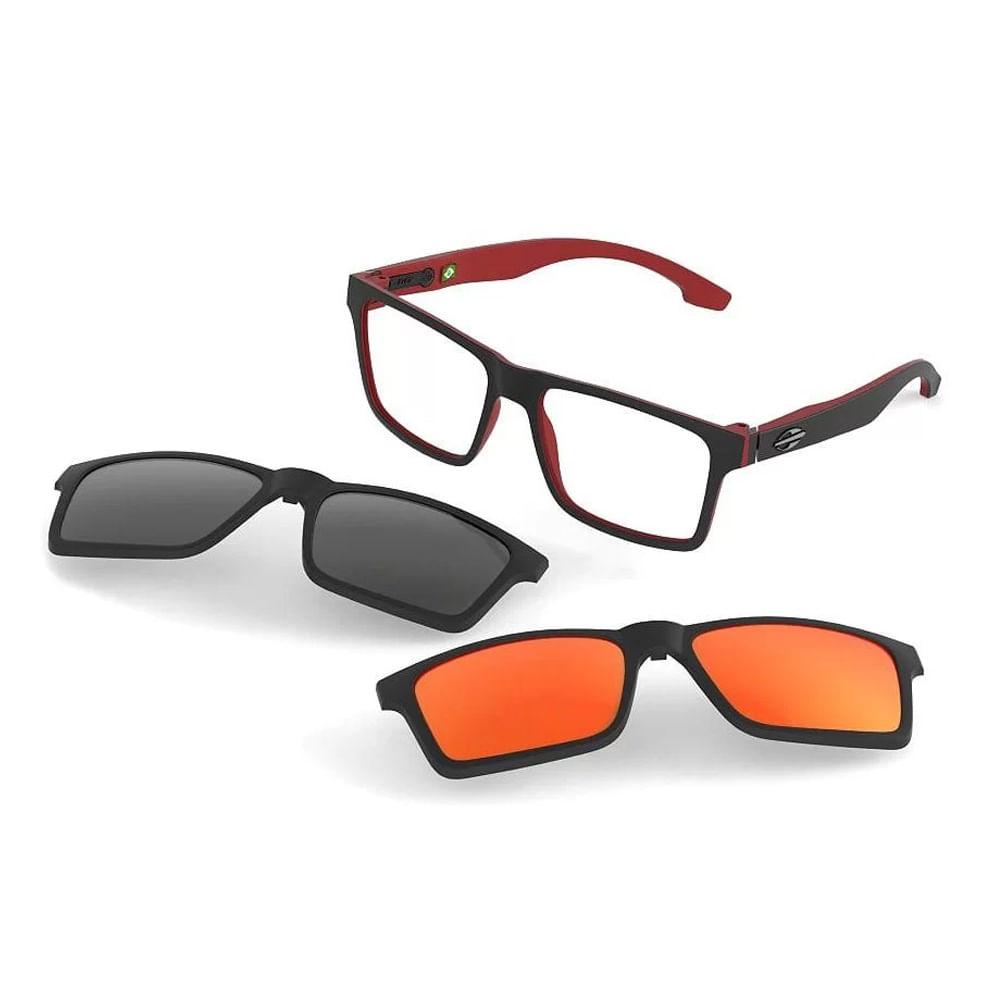 32362e057dd43 Óculos de grau mormaii swap preto parede vermelho fosco - mormaiishop