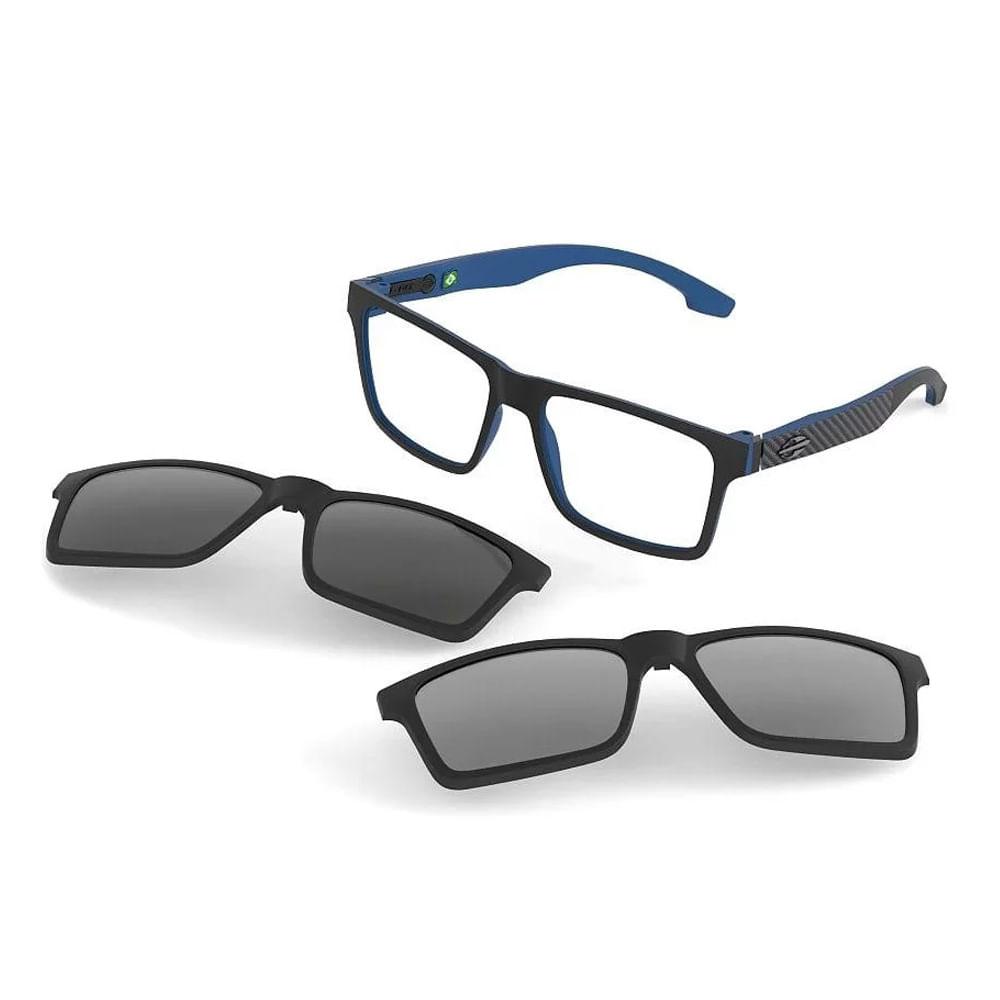 50bd663ca0b12 Óculos de grau mormaii swap preto parede azul fosco - mormaiishop